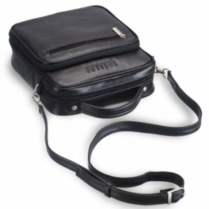 Удобная черная мужская сумка через плечо BRL-12935 227908
