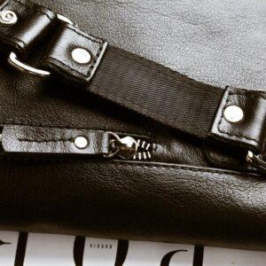 Деловая черная мужская сумка мессенджер BRL-1039 227561
