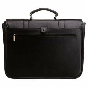 Стильный черный мужской портфель классический BRL-912 227492