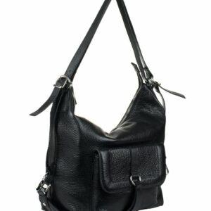 Вместительная черная женская сумка FBR-969 229354