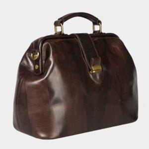 Удобная коричневая женская сумка ATS-1491 229631