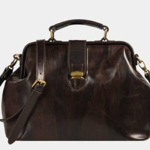 Удобная коричневая женская сумка ATS-1491