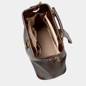 Удобная коричневая женская сумка ATS-1491 229630
