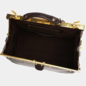 Функциональный коричневый саквояж с росписью ATS-4007 227250