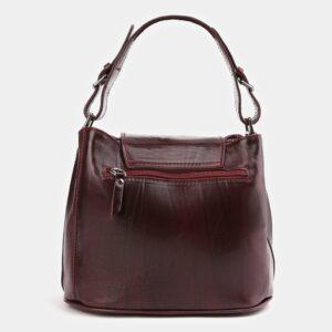 Деловая бордовая женская сумка ATS-4008 227244