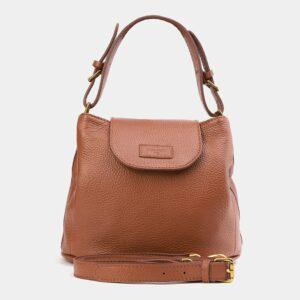 Стильная светло-желтая женская сумка ATS-4009
