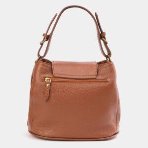 Стильная светло-желтая женская сумка ATS-4009 227239