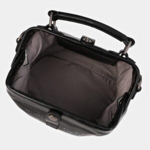 Деловая черная сумка с росписью ATS-4010 229349