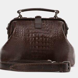 Удобная коричневая женская сумка ATS-4011