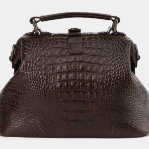 Удобная коричневая женская сумка ATS-4011 229343