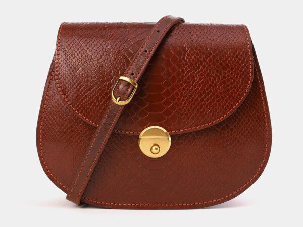 Функциональный светло-коричневый женский клатч ATS-4012