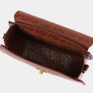 Функциональный светло-коричневый женский клатч ATS-4012 229339