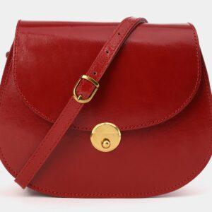 Уникальный красный женский клатч ATS-4014