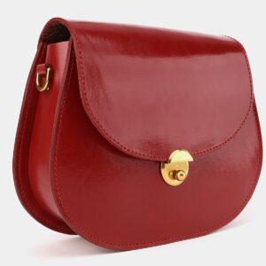 Уникальный красный женский клатч ATS-4014 229327