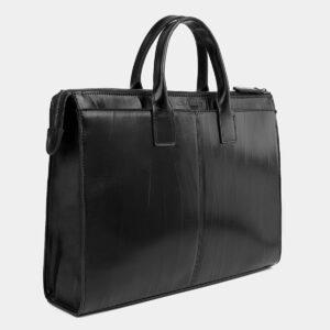Стильный черный мужской портфель ATS-4023 229465