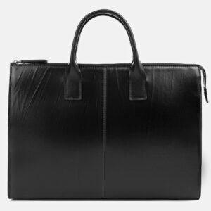 Стильный черный мужской портфель ATS-4023 229466