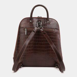 Функциональный коричневый рюкзак кожаный ATS-4015 229415