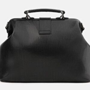Солидная черная сумка с росписью ATS-4016 229501