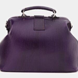Уникальная фиолетовая сумка с росписью ATS-4021 229476