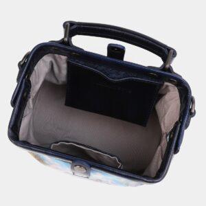 Солидная синяя сумка с росписью ATS-4018 229492