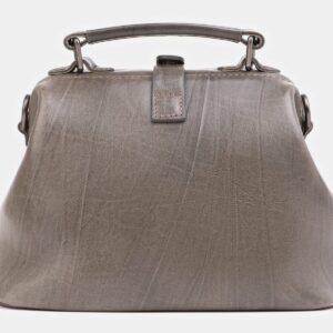 Стильная серая сумка с росписью ATS-4019 229486