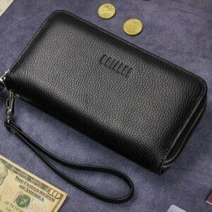Модный черный мужской портмоне клатч BRL-43903 229091