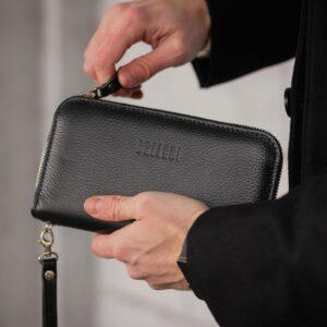 Стильный черный мужской портмоне клатч BRL-43905 229125