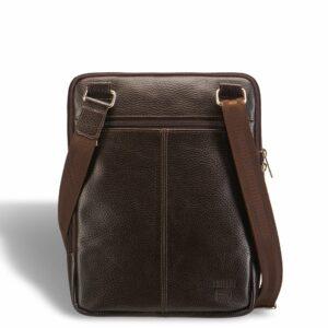 Вместительная коричневая мужская сумка через плечо BRL-12057 227845