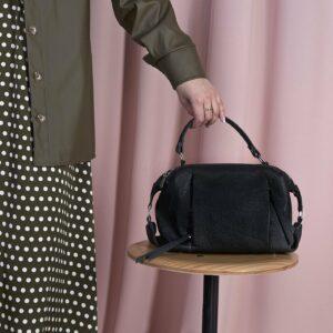 Вместительная черная женская сумка FBR-1779 229364