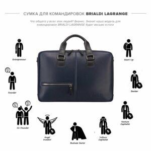 Неповторимая синяя дорожная сумка портфель BRL-23118 228391