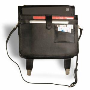 Стильный черный мужской портфель классический BRL-9536 227772