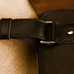 Деловая черная мужская сумка мессенджер BRL-1039 227563