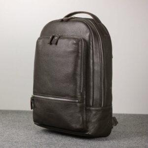 Неповторимый коричневый мужской деловой рюкзак BRL-45796 229277