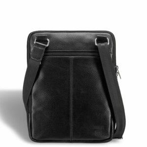 Солидная черная мужская сумка через плечо BRL-12058 227857