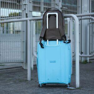 Неповторимый коричневый мужской деловой рюкзак BRL-45796 229275