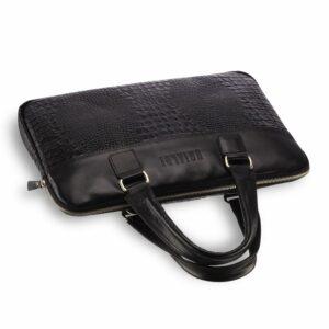 Солидная черная женская деловая сумка BRL-17810 228083