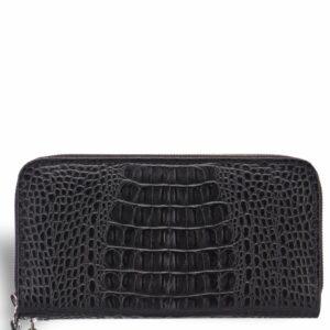 Уникальный черный мужской портмоне клатч BRL-19830 228091