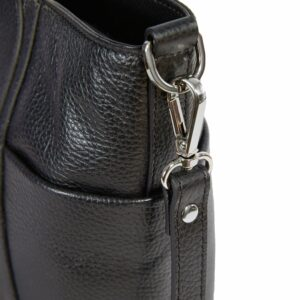 Стильная черная женская сумка через плечо BRL-47281 229778