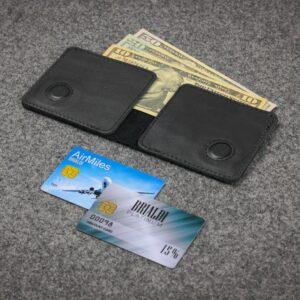 Модный черный мужской портмоне клатч BRL-23091