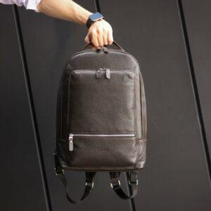 Неповторимый коричневый мужской деловой рюкзак BRL-45796 229263