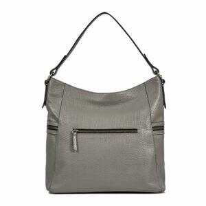 Функциональная серая женская сумка через плечо BRL-47451 229801