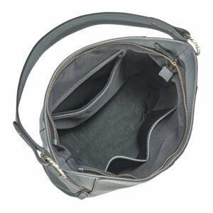 Функциональная серая женская сумка через плечо BRL-47452 229816