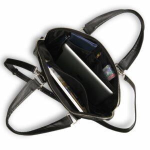 Солидная черная женская деловая сумка BRL-17810 228084