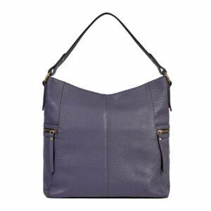 Вместительная фиолетовая женская сумка через плечо BRL-47455 229852