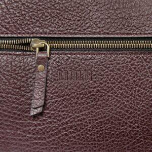 Деловая бордовая женская сумка через плечо BRL-47450 229792