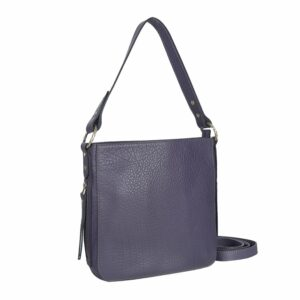 Уникальная фиолетовая женская сумка через плечо BRL-47552