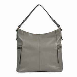 Функциональная серая женская сумка через плечо BRL-47451 229800
