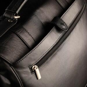 Стильный черный мужской портфель классический BRL-912 227498