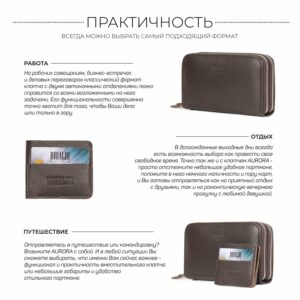 Неповторимый коричневый мужской портмоне клатч BRL-44371 229171