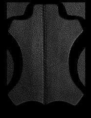 Кожаная черная мужская сумка мессенджер BRL-1022 229387